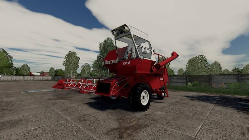 Комбайн РСМ СК-5 Нива для Farming Simulator 2019