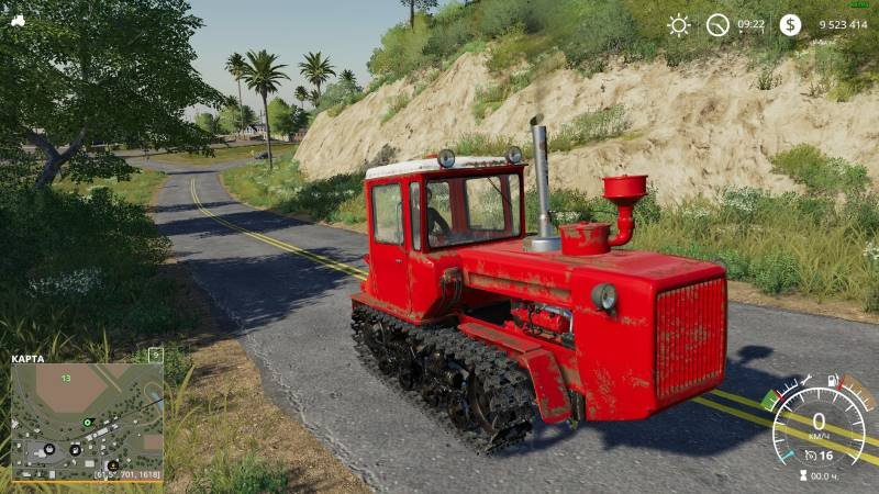Трактор ДТ 175 С V1.0.0.0 для Farming Simulator 2019