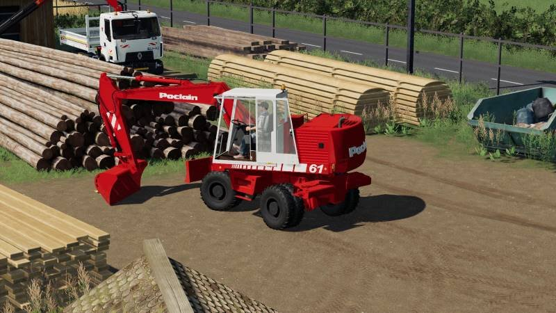 Пак CASE 688 / POCLAIN 61 V1.0.0.0 для Farming Simulator 2019