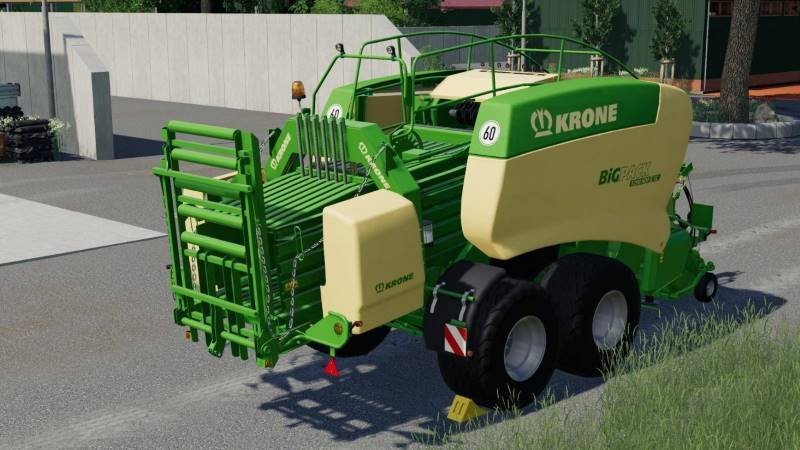 Тюкопресс KRONE BIG PACK 1290HDPII V1.0 для Farming Simulator 2019