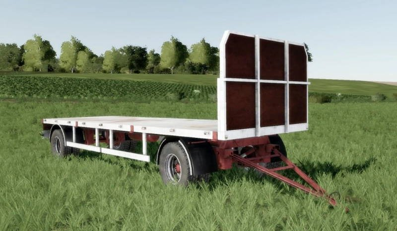 Прицеп для тюков HOMEMADE BALE TRAILER SUN 2005 V1.0 для Farming Simulator 2019
