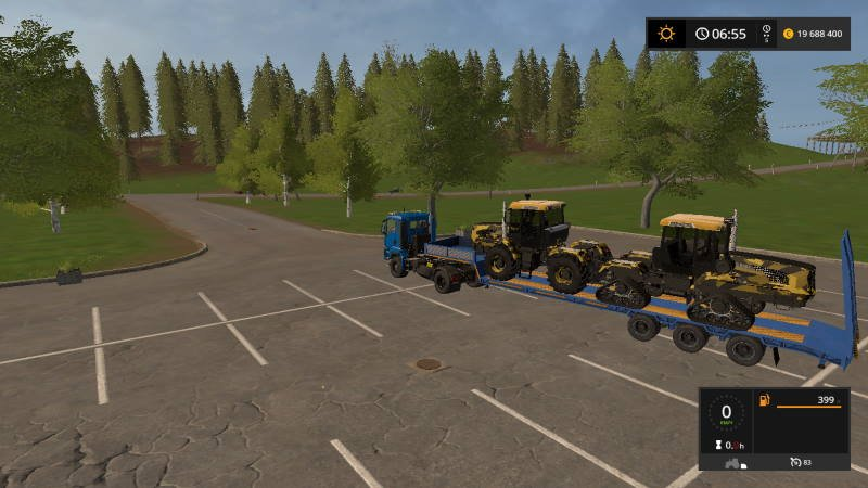 Трал ЧМЗАП 990640-046MT2 v 1.0 для Farming Simulator 2017