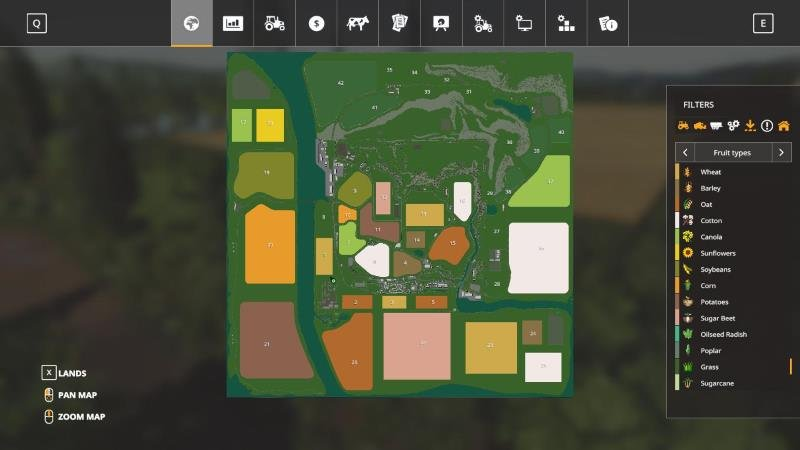 Карта FENTON FOREST 4X UPDATE 8 BY STEVIE для Farming Simulator 2019