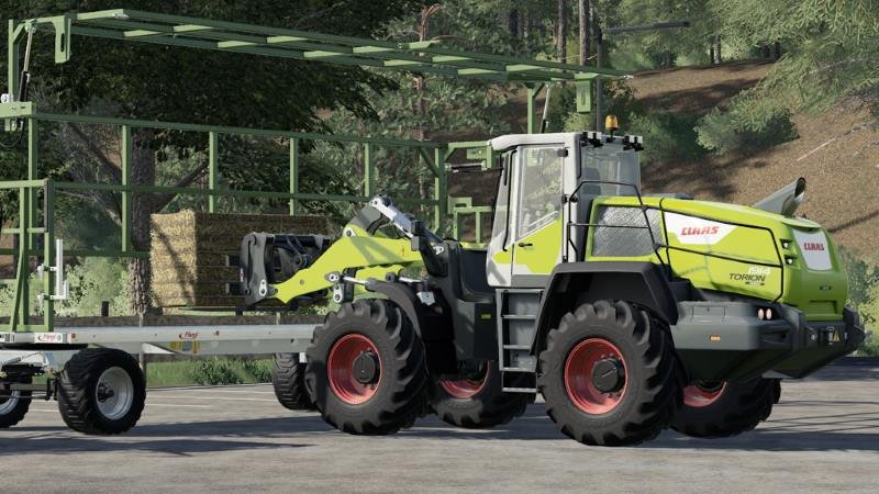 Погрузчик CLAAS Torion v 1.0 для Farming Simulator 2019