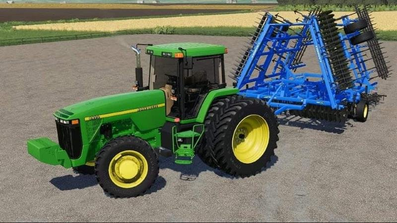 Трактор JOHN DEERE 8000 SERIES US V1.0.0.0 для Farming Simulator 2019