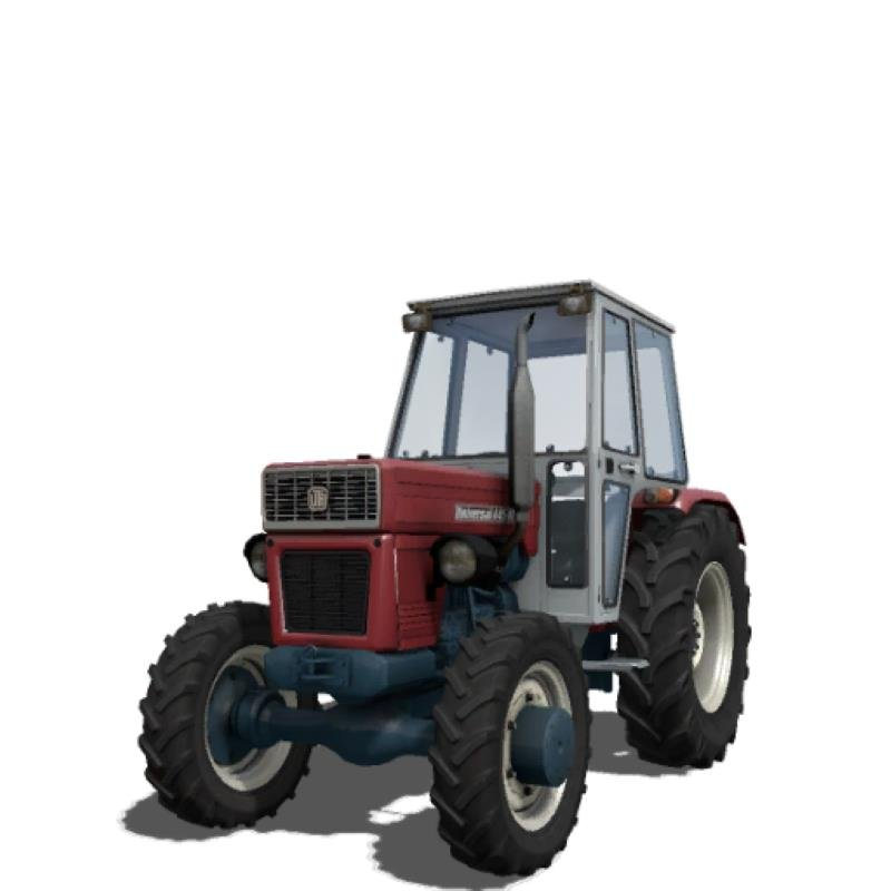 Трактор UNIVERSAL 445 DTC V1.0 для Farming Simulator 2019
