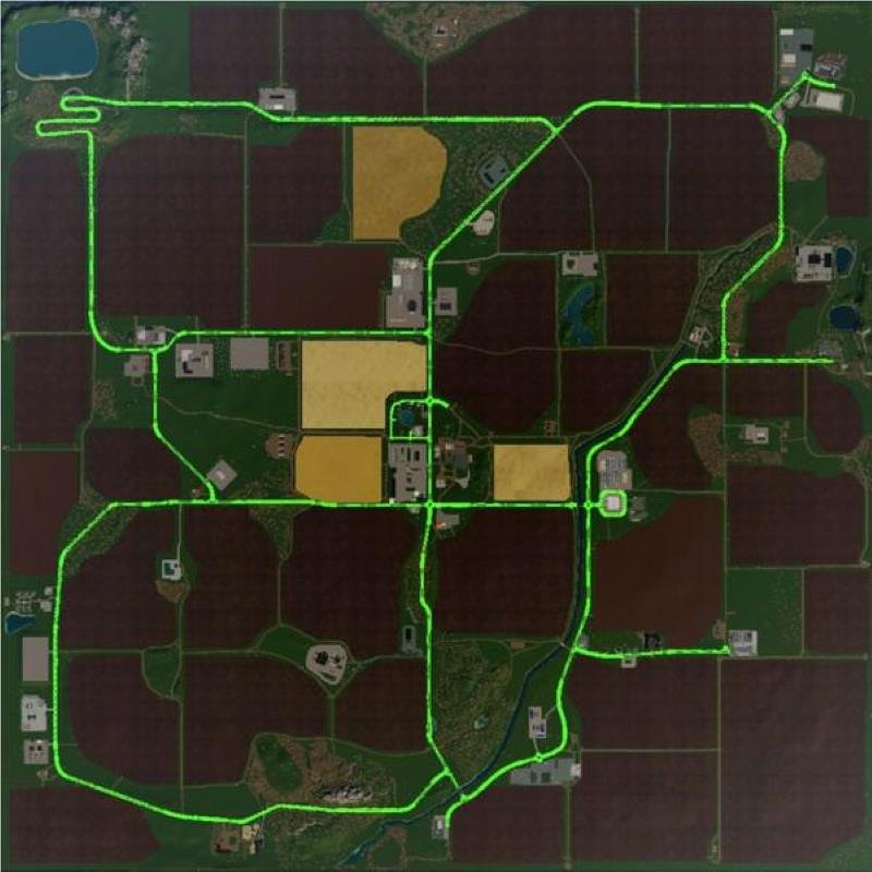 Карта MULTIMAP 2019 V2.3 для Farming Simulator 2019