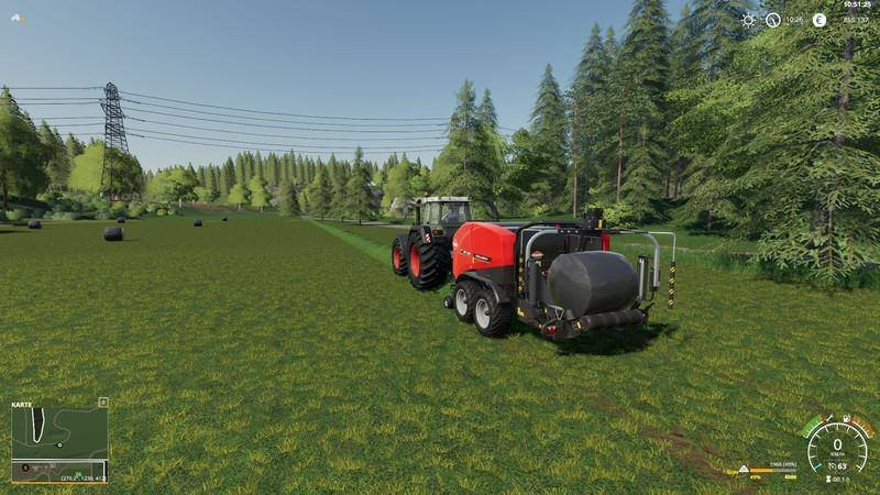 Тюкопресс KUHN FBP3135 V1.0.0.0 для Farming Simulator 2019
