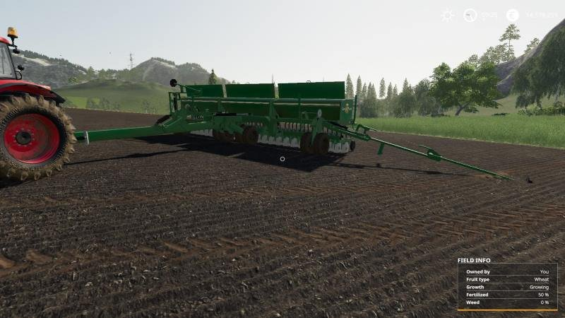Сеялка GREAT PLAAINS 3S-3000 HD V1.0 для Farming Simulator 2019