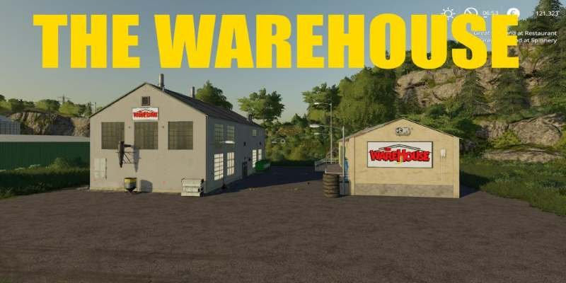 Точка продажи THEWAREHOUSE V1.0.6 THEWAREHOUSE V1.0.5