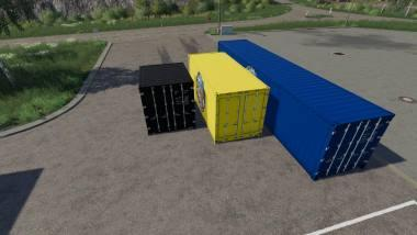 Пак контейнеров ATC CONTAINER PACK V3.3.0.0 для Farming Simulator 2019