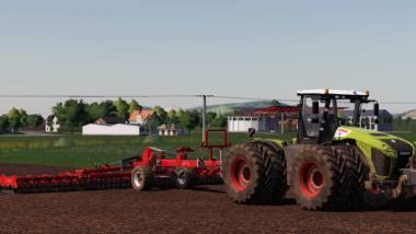 Дисковая борона QUIVOGNE DISKATOR 12M V1.0.0.0 для Farming Simulator 2019